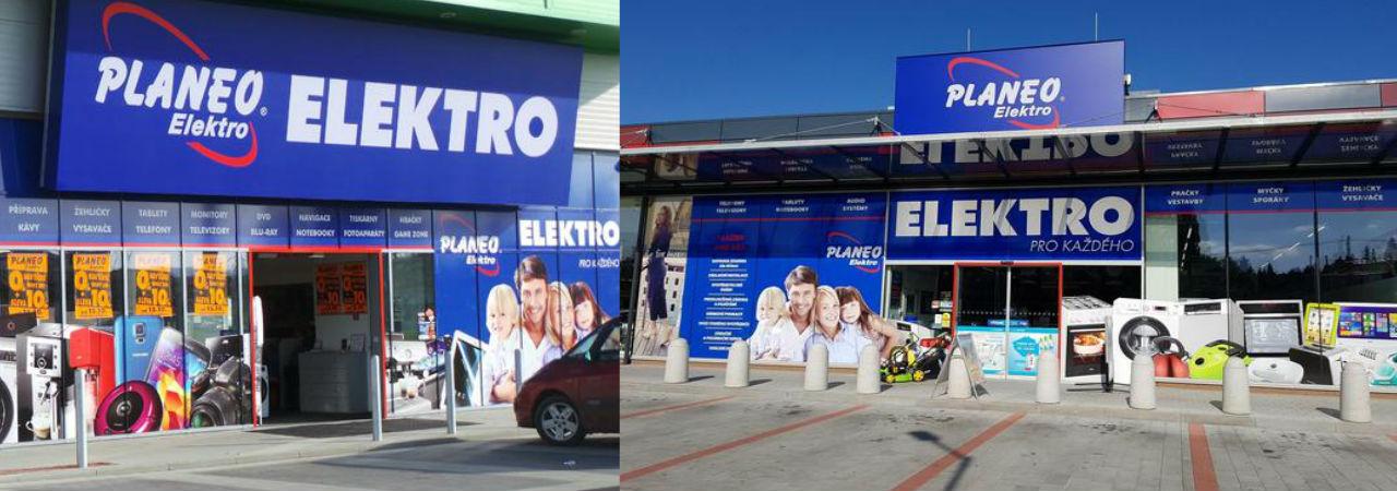 Prodejny PLANEO elektro na váš čekají celkem na 250 místech celé České  republice. 7ed7b94644c